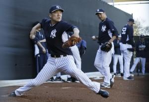 Tanaka Spring Training